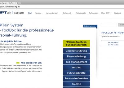 CAPTain System Website